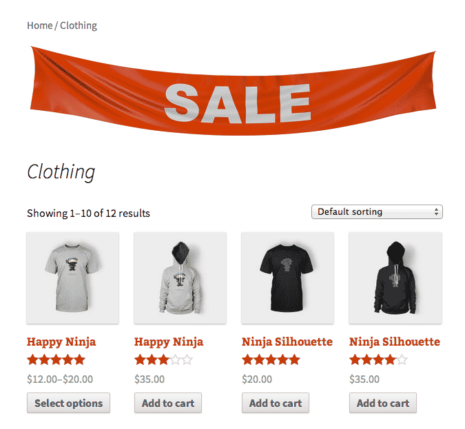 Woocommerce Category Banner Wp Backoffice